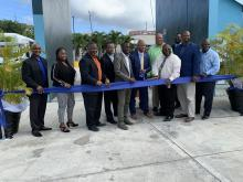 A ribbon cutting ceremony was held on Jan. 8 to celebrate the much-needed upgrades for this federally funded project